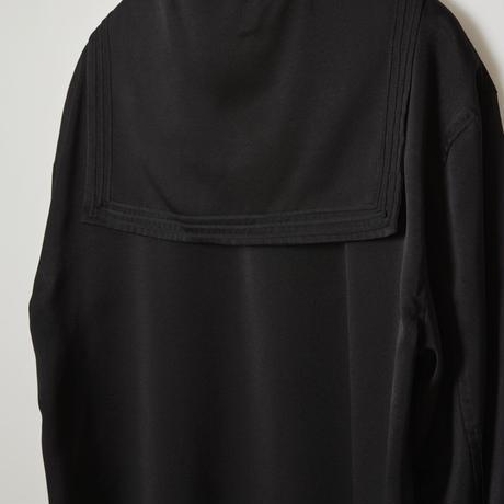 sailor collar shirts /black