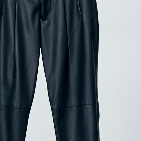 high wasted fake leather pants