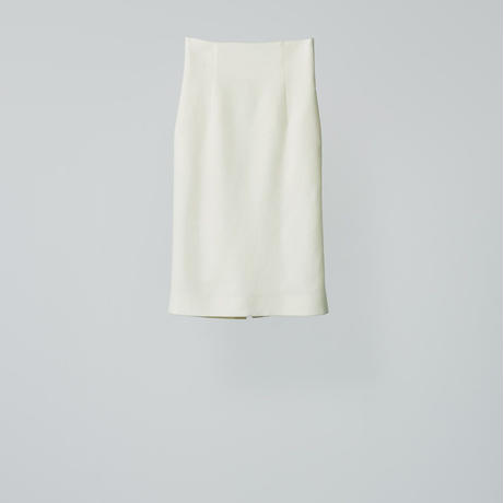 high wasted tait skirts / white