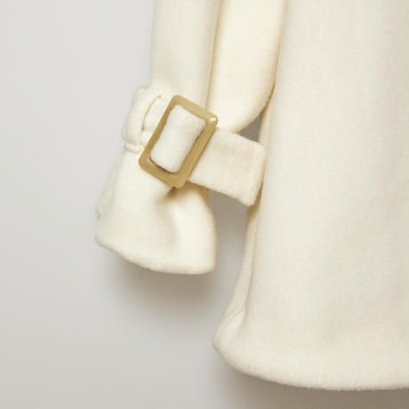 airy veaver coat / white