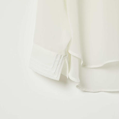 sailor collar shirts / white