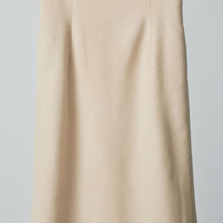 high wasted tait skirts /beige