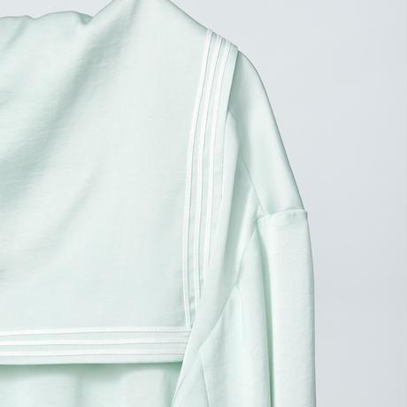 sailor collar shirts / mint green