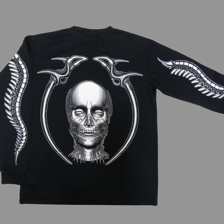 Face and pelvis Long sleeve  DRY-Tshirt