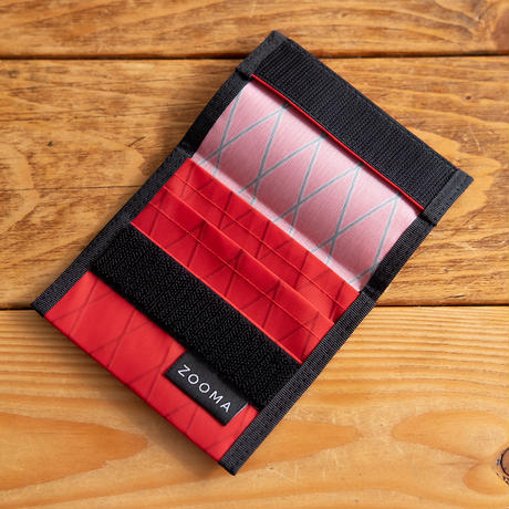 Minimal wallet - X-Pac Red