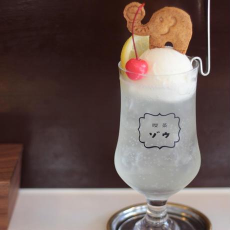 喫茶ゾウフロートグラス