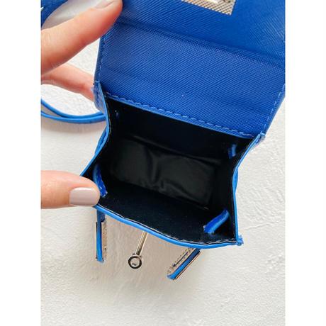 Acoessory bag【Si096-BLU】