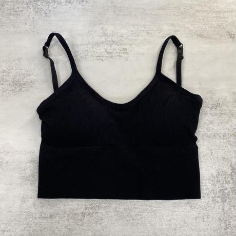 open back bratop【St022-BLK】