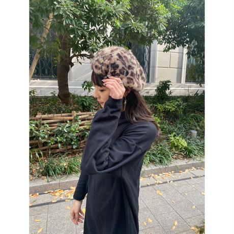 leopard beret [Vi228]