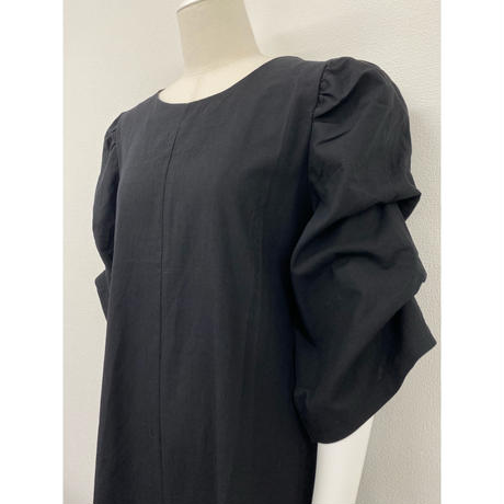 puff sleeve one-piece【Sd007】