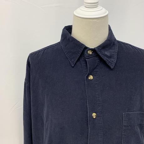 vintage corduroy shirt【V242】