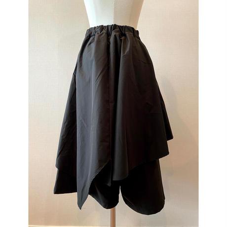 design wide pants【Sp004-BLK】