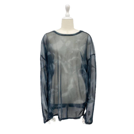 see-through pattern tops【St018】