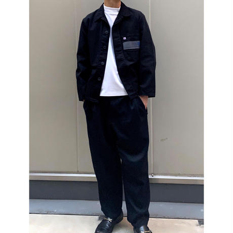 17 men's blacking work shirt [Vj057]
