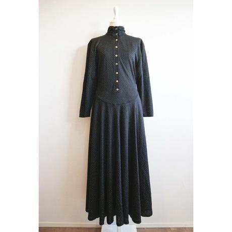 euro vintage one-piece dress  [Vd027]