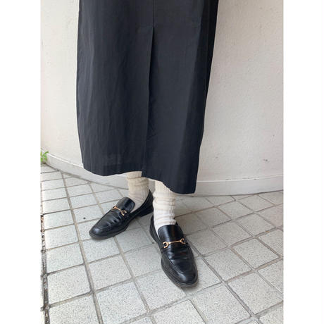 2P rib socks【Sc001-WHT】