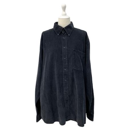 vintage corduroy shirt【V243】