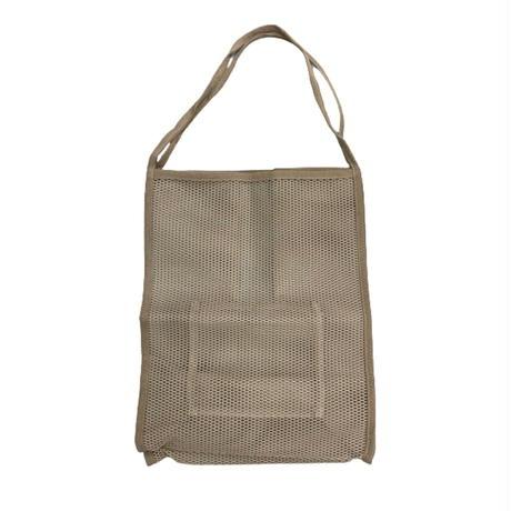 summer mesh tote【Si113-BEG】