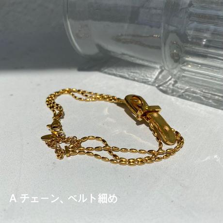 gold chain belt bracelet A【Si088】