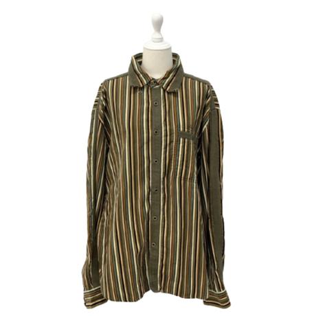 vintage corduroy shirt【V161】