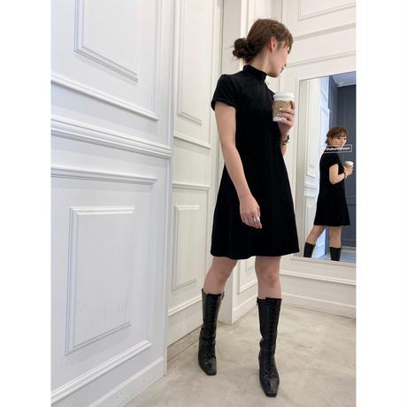 euro vintage one-piece dress  [Vd032]