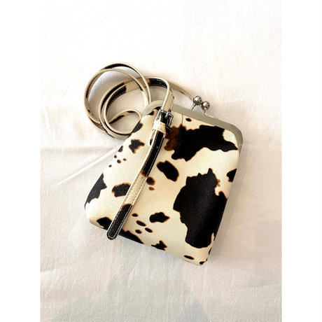 CowCow 2way purse pouch【Si079】
