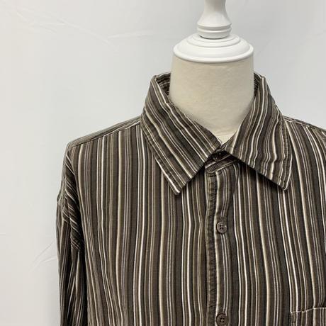 vintage corduroy shirt【V160】