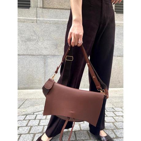 brown wide pants  [Vp085]