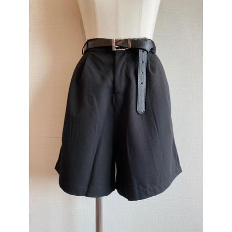over short pants 【Sp005-BLK】