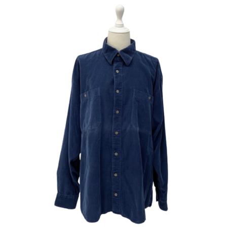 vintage corduroy shirt【V102】