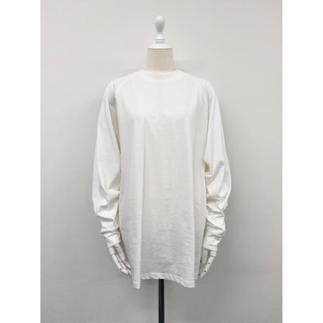 regular long sleeve tee【St019-WHT】
