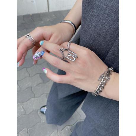 silver chain bracelet【Si112】