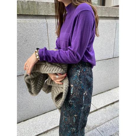 vintage purple knit [Vk034]