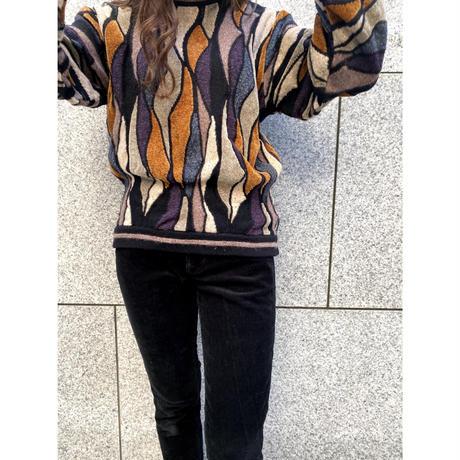 euro vintage knit [Vk029]