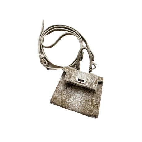 Acoessory bag【Si096-PYTHON】