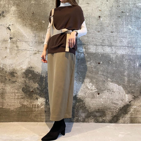vintage vest knit  [Vk056]