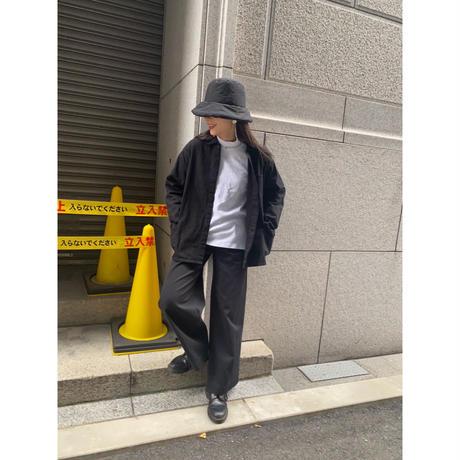 ⑨men's blacking work shirt [Vj049]