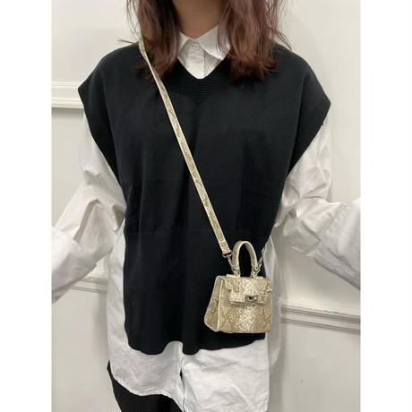 season less knit vest【St025】