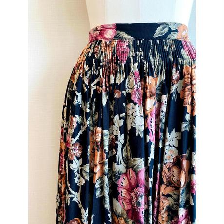 vintage long skirt  [Vs093]