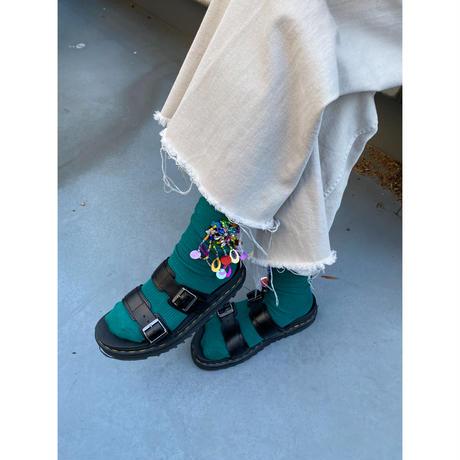 bijou socks【Sc002-GRN】