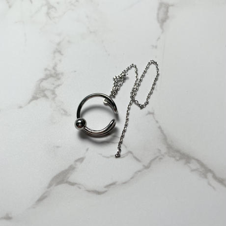 long ear cuff【Si108】