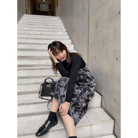 camisole rib dress【Sd004】