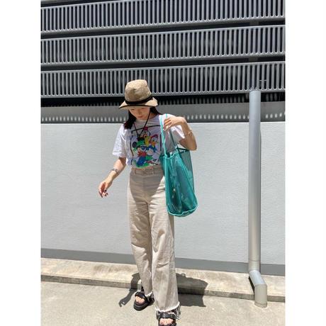 summer mesh tote【Si113-GRN】