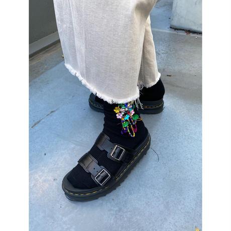 bijou socks【Sc002-BLK】