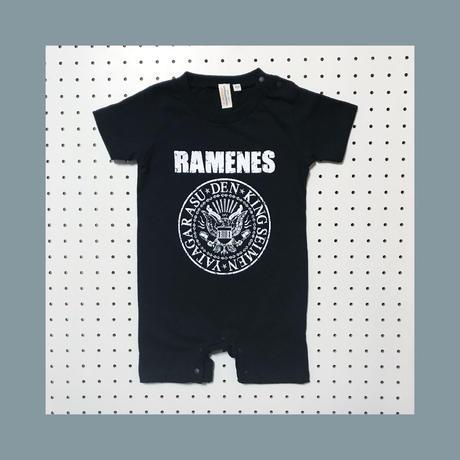 傳×キング製麺×八咫烏 Baby Rompers