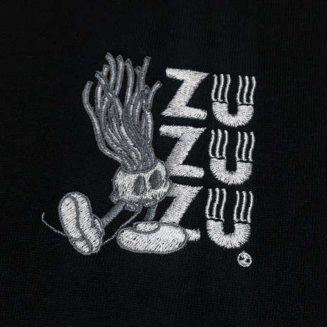 ZU-MOUSE BLK HOODIE