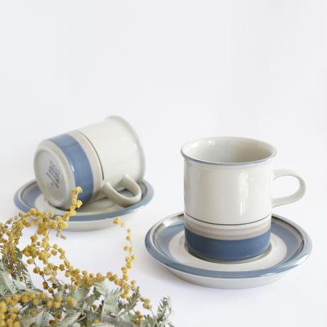 〈訳あり〉ARABIA/Uthua (アラビア/ウートゥア)コーヒーカップソーサー  No.3