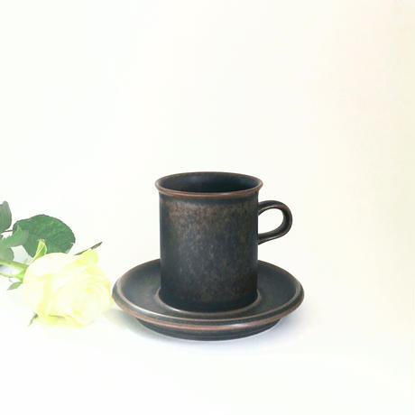 ARABIA/RUSKA(アラビア/ルスカ)コーヒーカップ&ソーサー 商品No.3