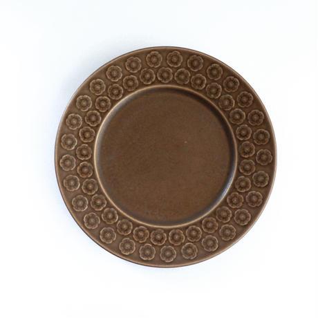 Quistgaard/Brown Azur Umbra(クイストゴー/ブラウンアズール) ラウンドケーキプレート UM1