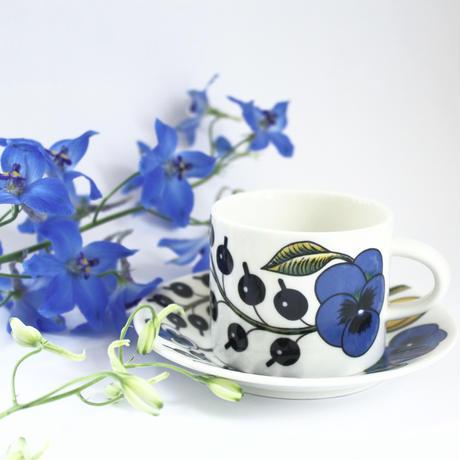 ARABIA/PARATIISI(アラビア/パラティッシ)コーヒーカップ&ソーサー 商品No.12-A